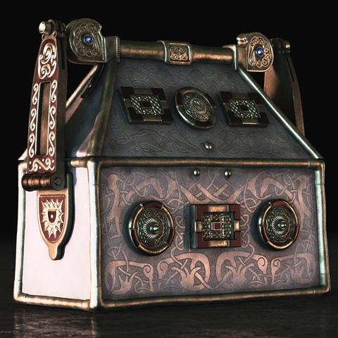 3D model reconstruction of the Breccbennach or Monymusk Reliquary